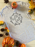 Hello Fall V-Neck