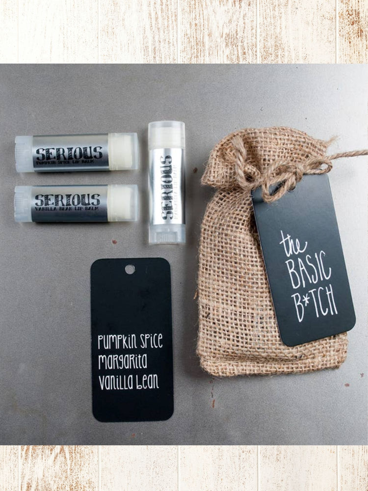 The Serious Bitch Lip Balm Bundle
