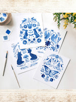 Folk Art Watercolor Kit