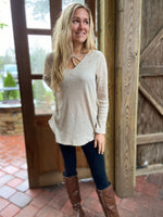Criss Cross Oatmeal Top