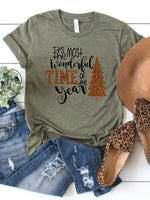 The Most Wonderful Time Christmas Tee - Wild Magnolia