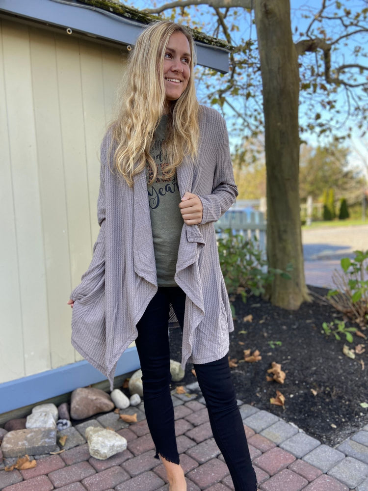 Free as a Bird Cardigan in Mocha - Wild Magnolia