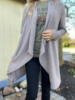 Free as a Bird Cardigan in Mocha
