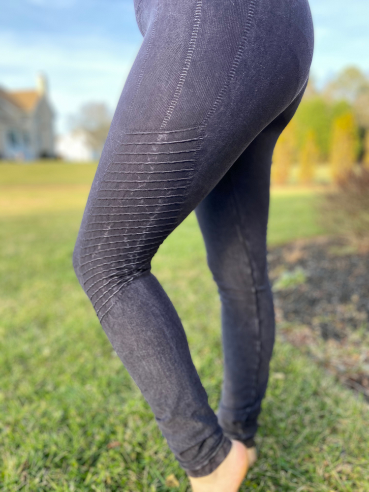 Vintage Leggings in Black