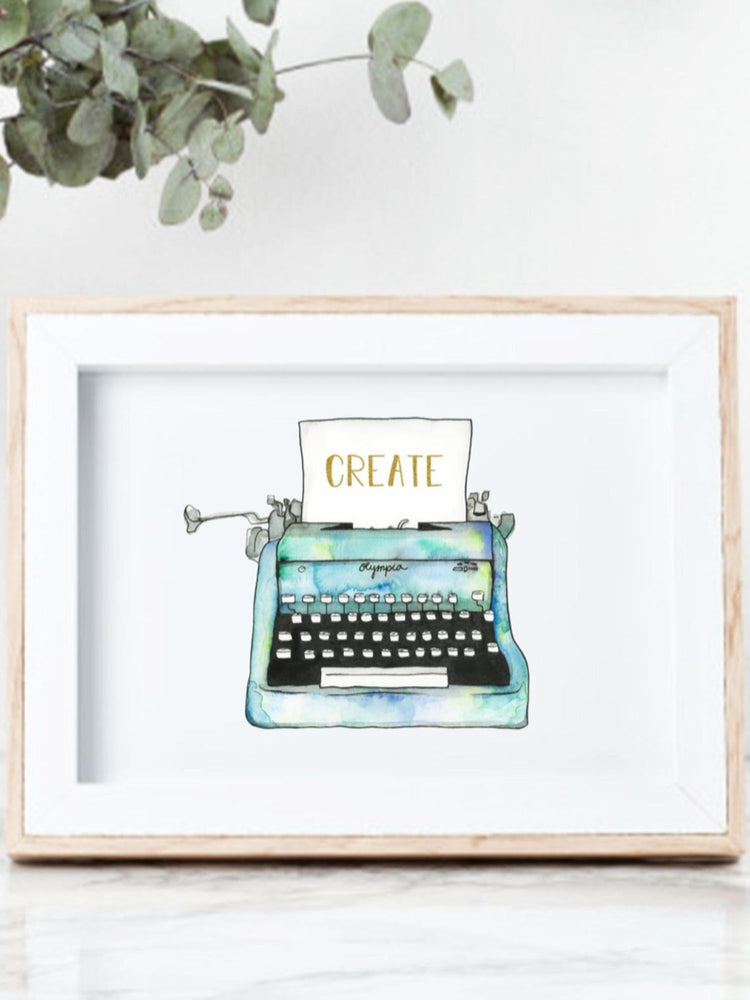 Create Typewriter Print