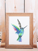 Hummingbird Mini Print