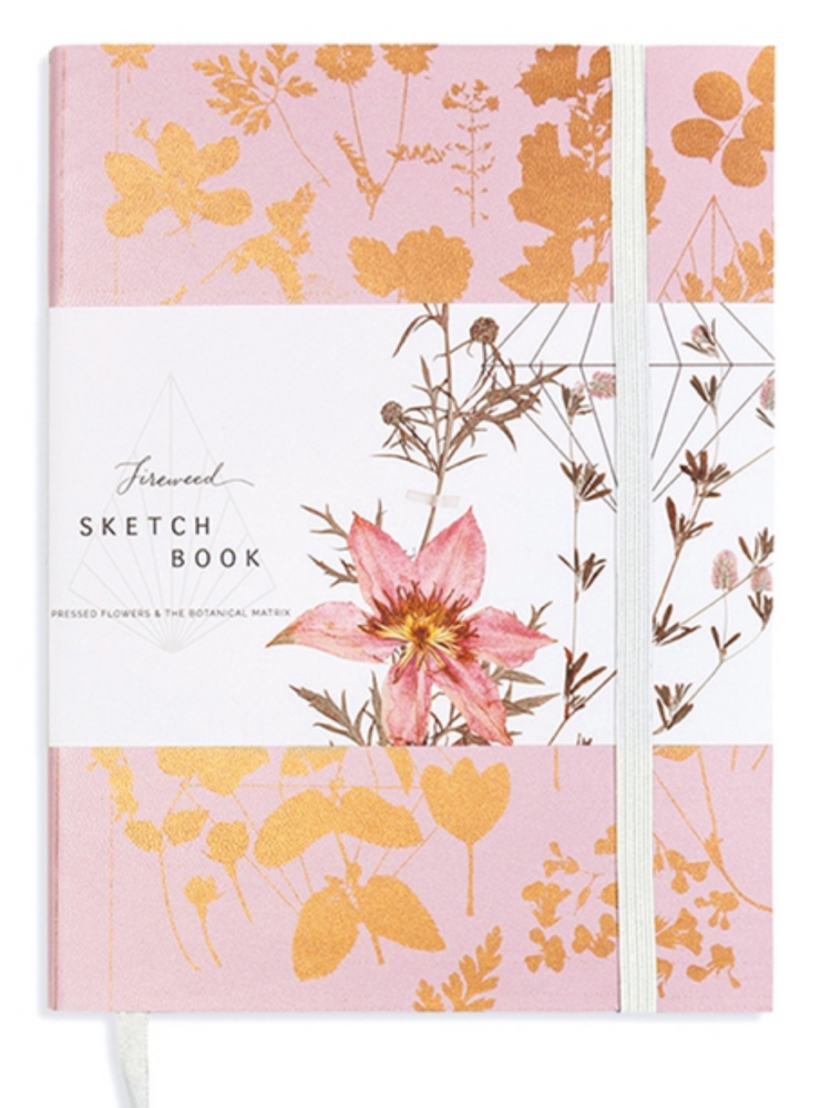 Faux Leather Sketchbook - Wild Magnolia