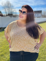 Bright Side Cheetah Top - Wild Magnolia