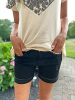 Jackie Black Distressed Shorts