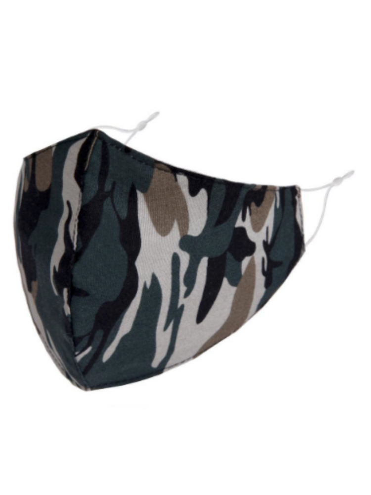 Camouflage Adjustable Face Mask