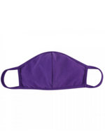 Solid Purple T-Shirt Face Mask - Wild Magnolia