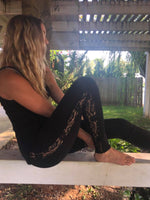 Black Lace Leggings. - Wild Magnolia