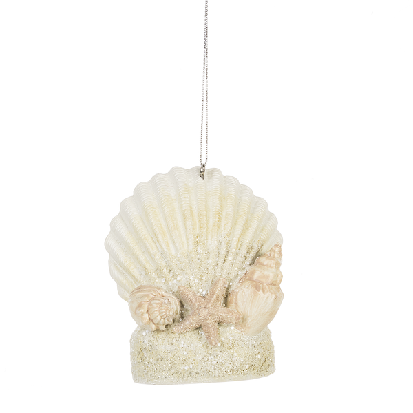 Jewels Shell Ornament