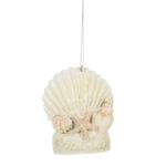 Jewels Shell Ornament - Wild Magnolia