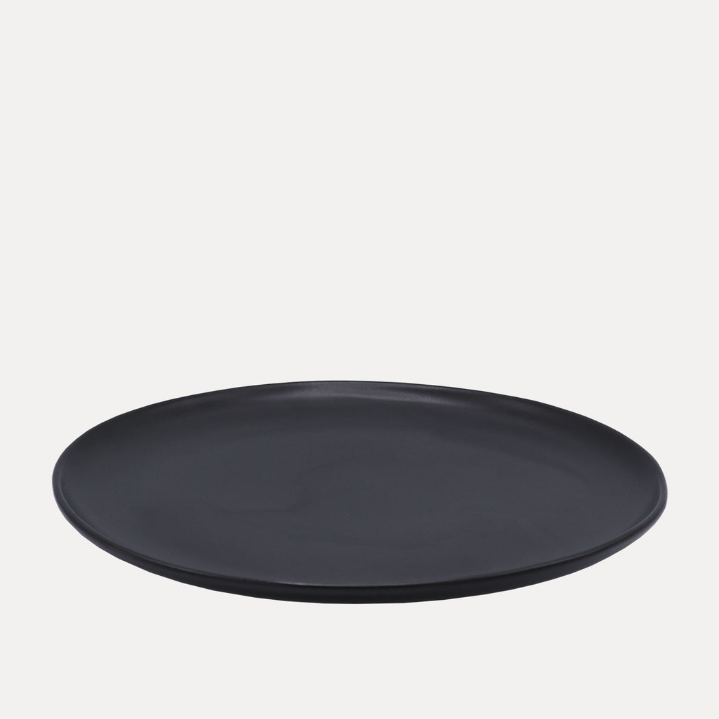 Edtoba Eddy Dinner Plate, Black