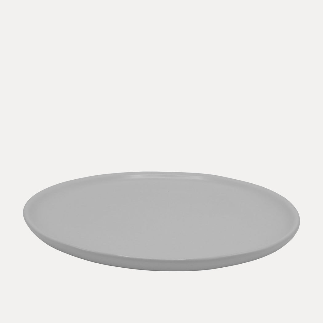 Edtoba Eddy Dinner Plate, White