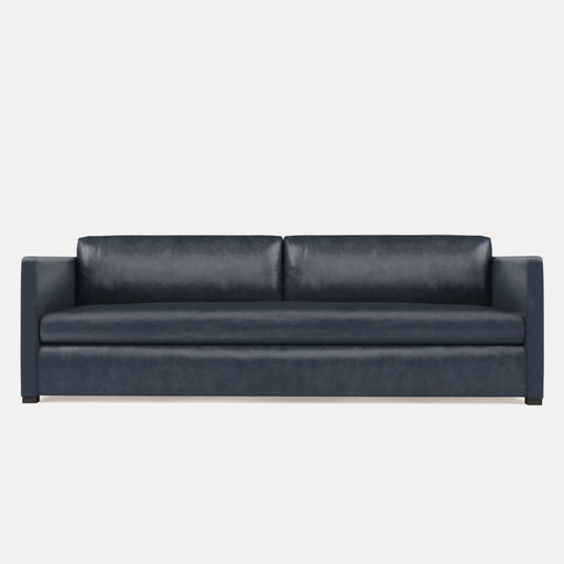 Modern Minimalist Leather Sofa