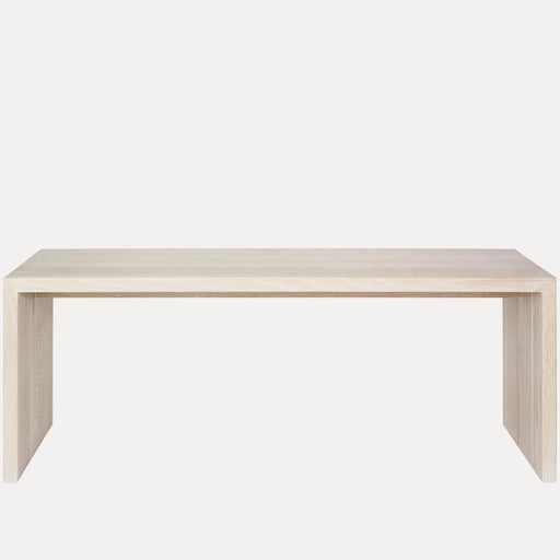 Treble Bench, White Oak