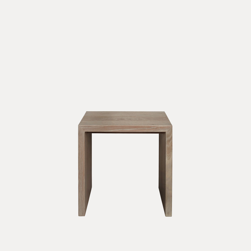 Edtoba Treble Side Table / Stool, Natural Oak