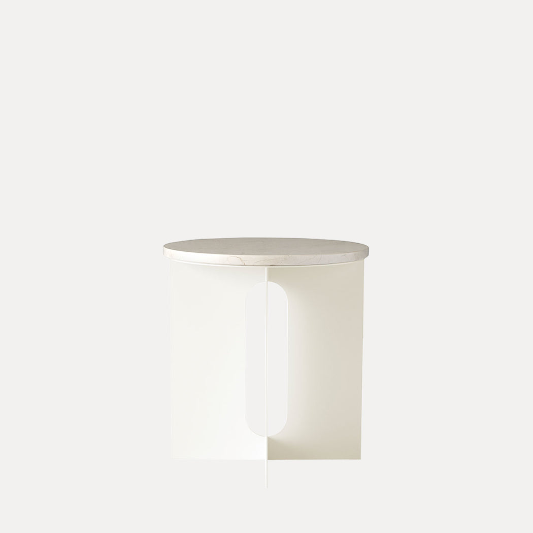 Menu Androgyne Side Table, Ivory