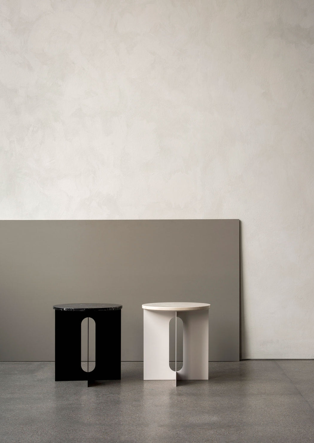 Modern Minimalist Menu Androgyne Side Table