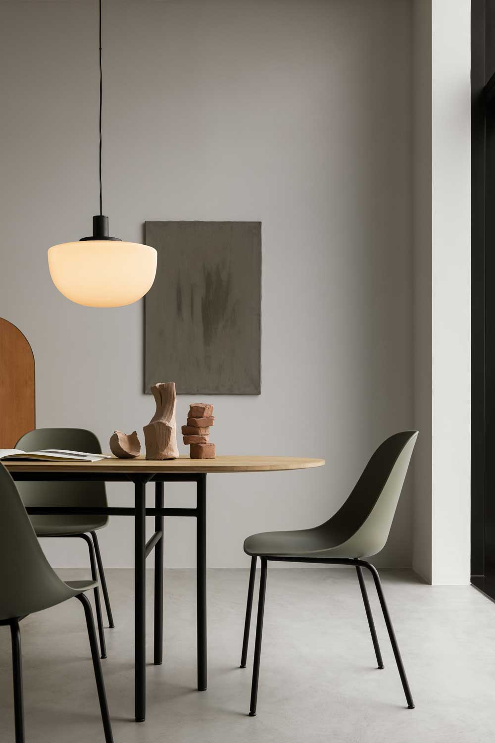 Modern Minimalist Menu Bank Pendant Light