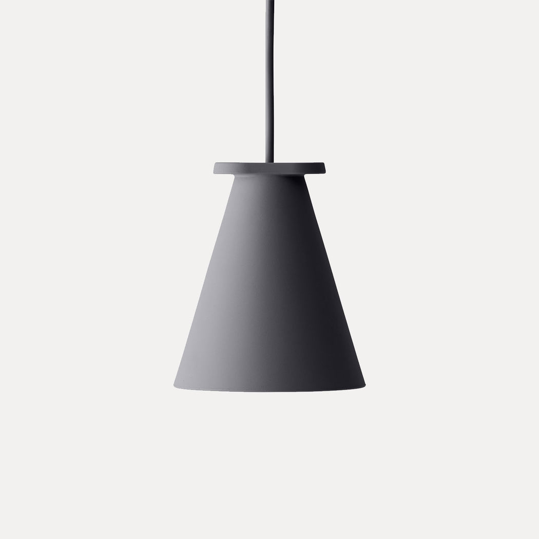 Bollard Pendant Light in Carbon