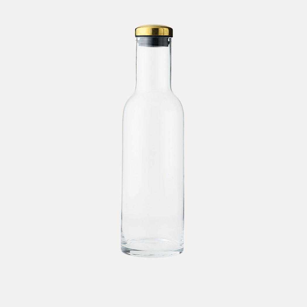 Menu Bottle Carafe, Clear Glass