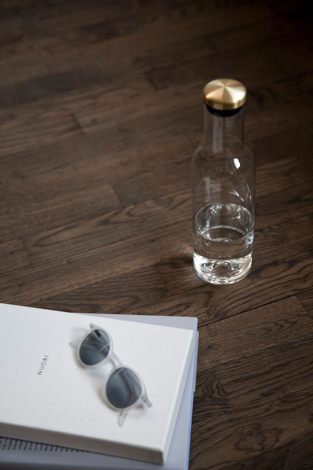 Modern Minimalist Menu Bottle Carafe