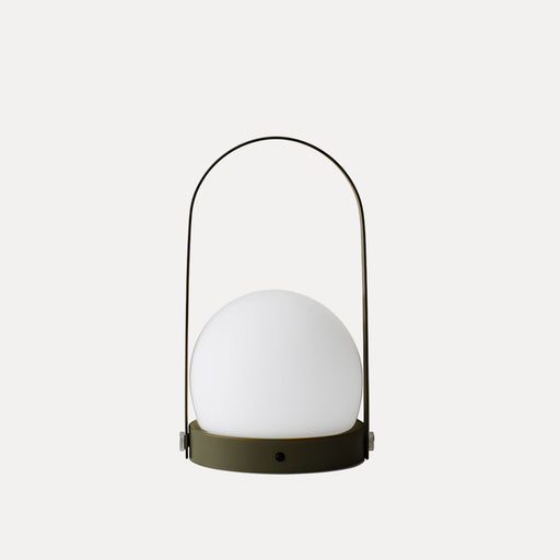 Carrie LED Table Lamp in Olive
