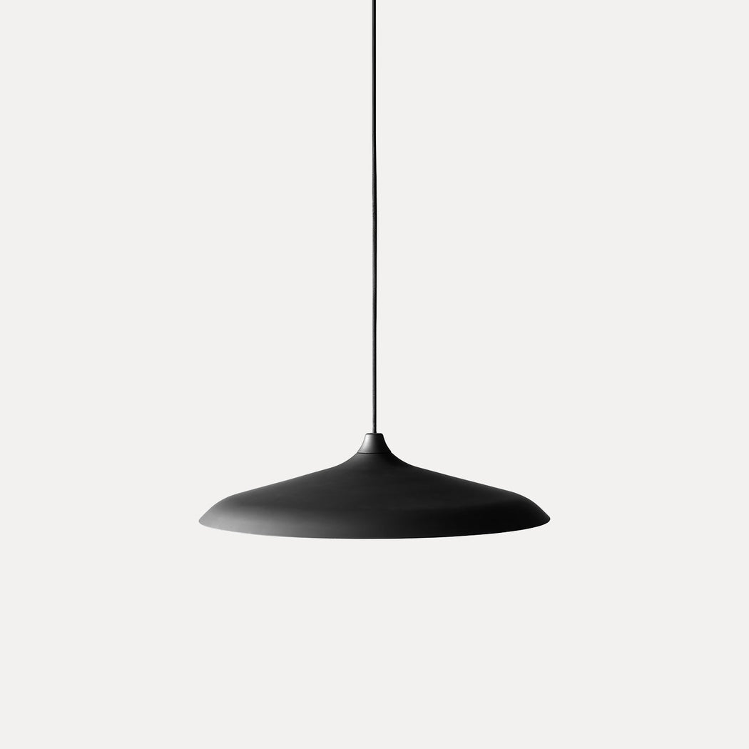 Menu Circular Pendant Light, Black