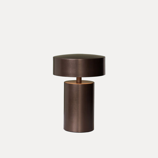 Menu Column Table Lamp, Bronze