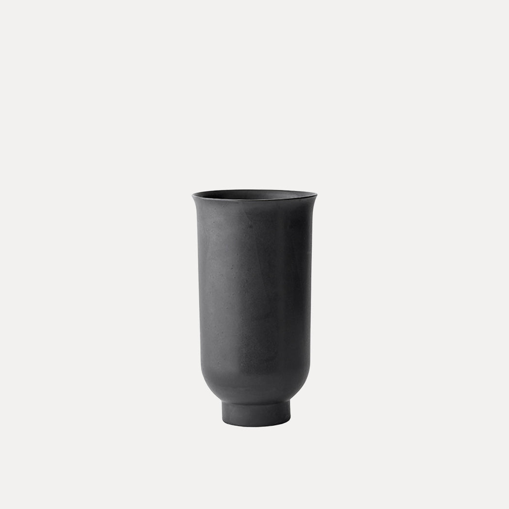 Small Menu Cyclades Vase, Black