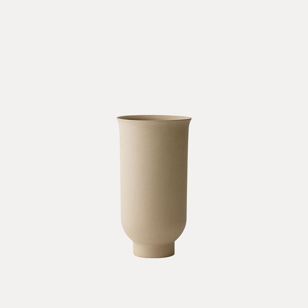 Small Menu Cyclades Vase, Sand