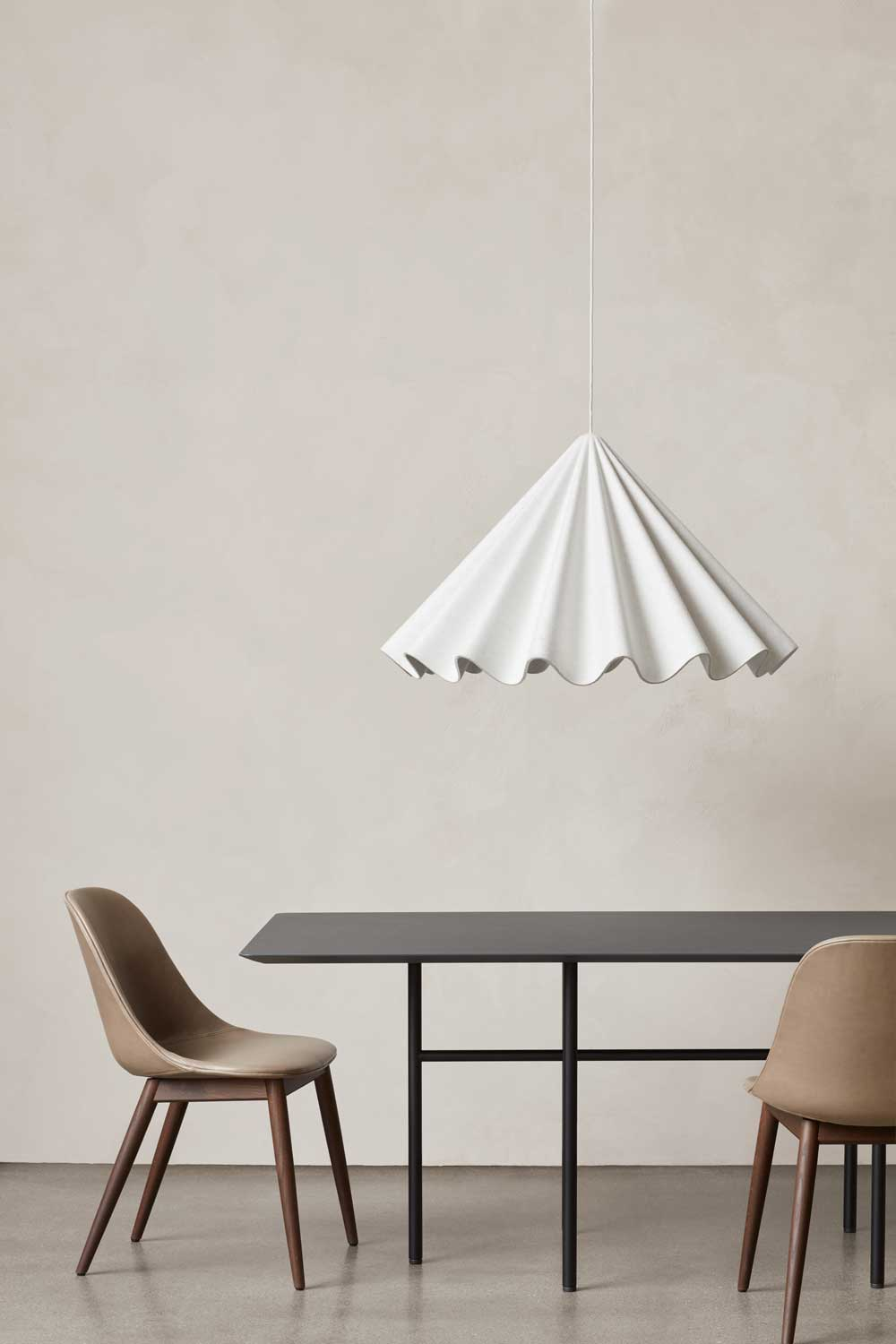 Modern Minimalist Menu Dancing Pendant Light, Off-White