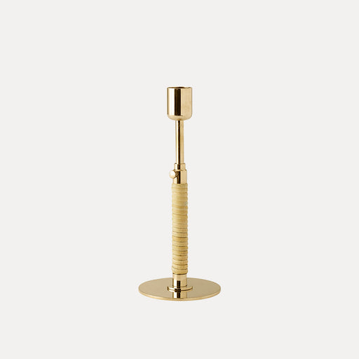 Menu Duca Candleholder, Polished Brass