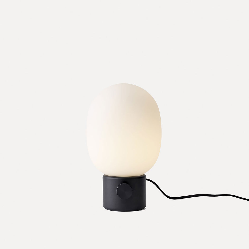 Jwda Table Lamp, Black Metal