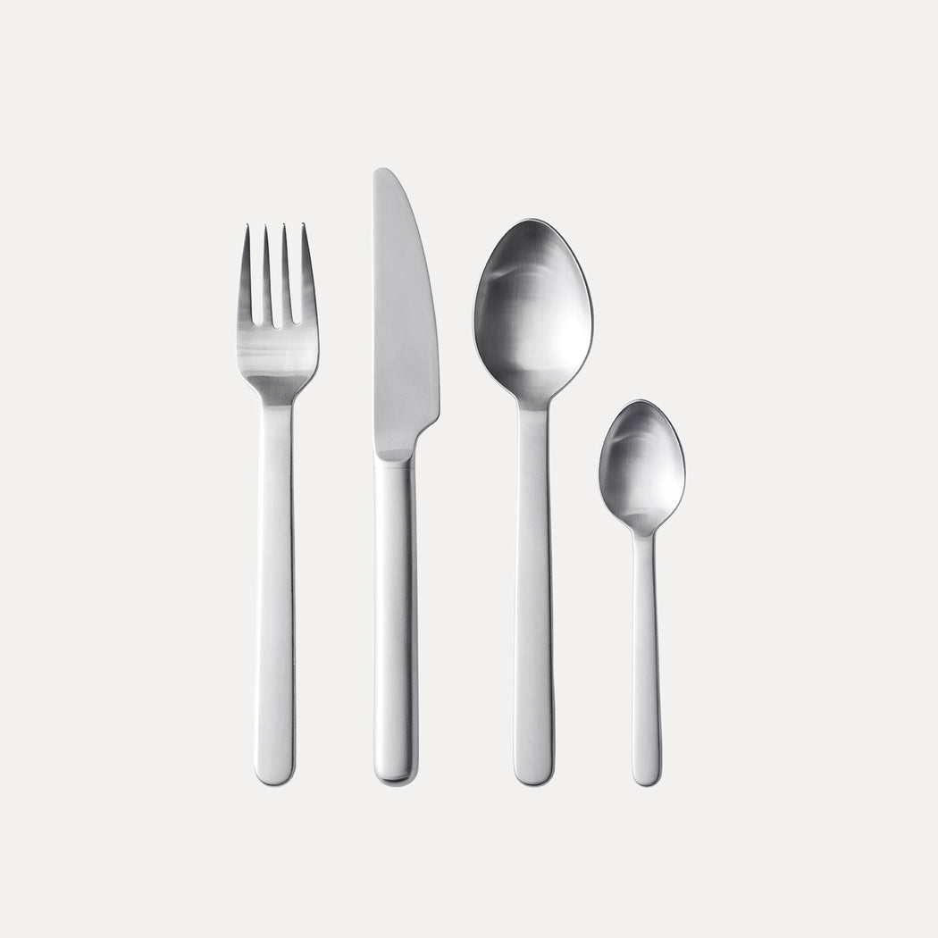 Menu New Norm Cutlery, Brushed Steel