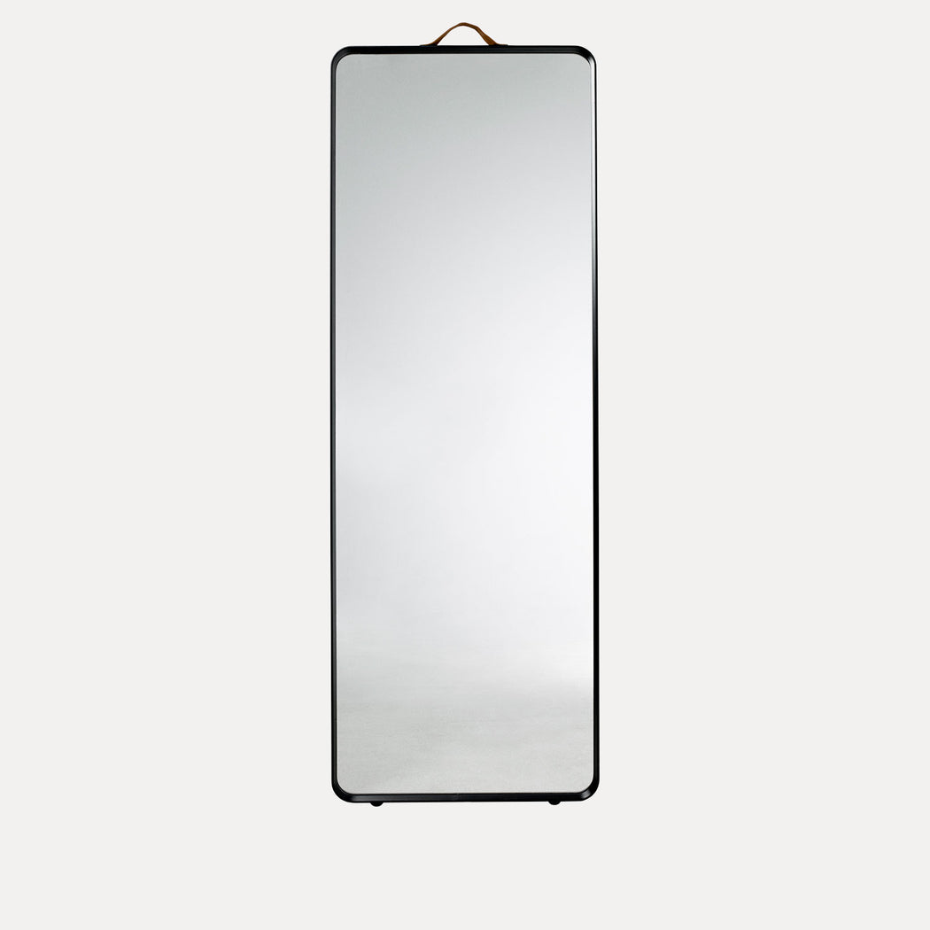 Norm Floor Mirror, Black