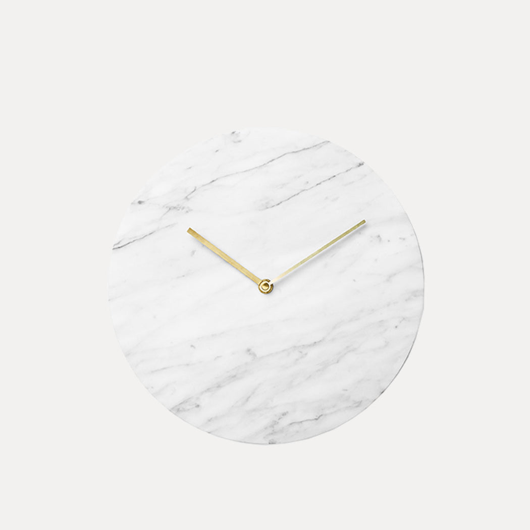 Norm Wall Clock, White