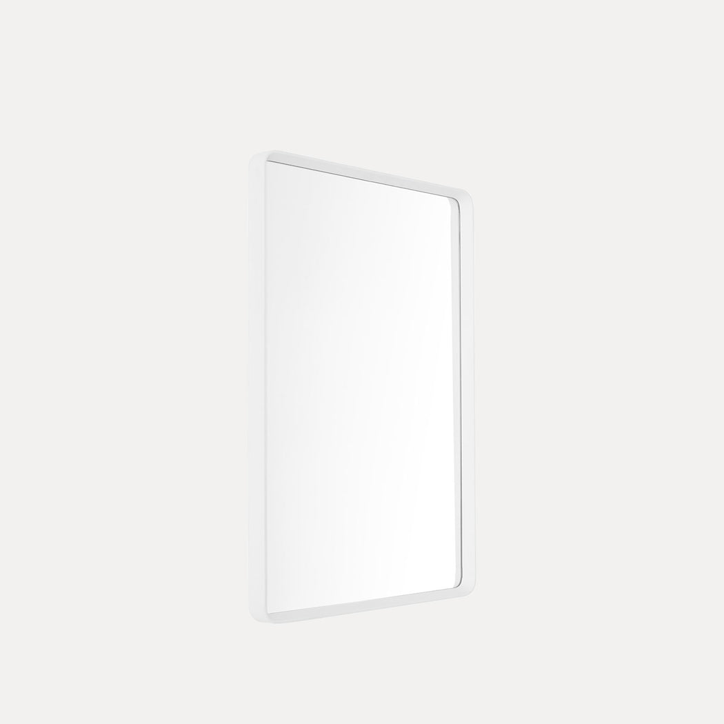 Norm Wall Mirror, White