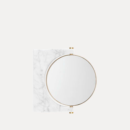 Menu Pepe Marble Wall Mirror, White