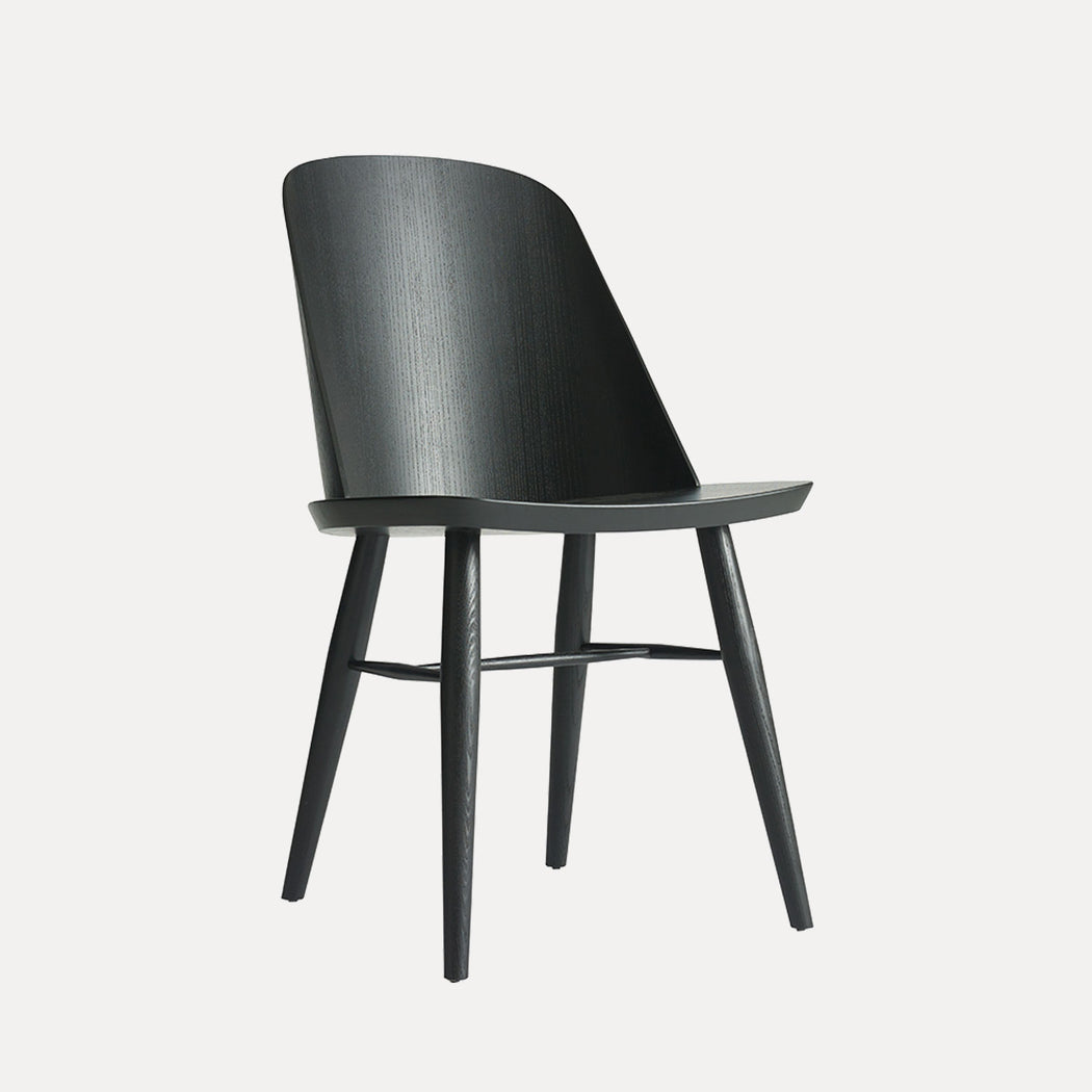 Menu Synnes Chair, Black Ash