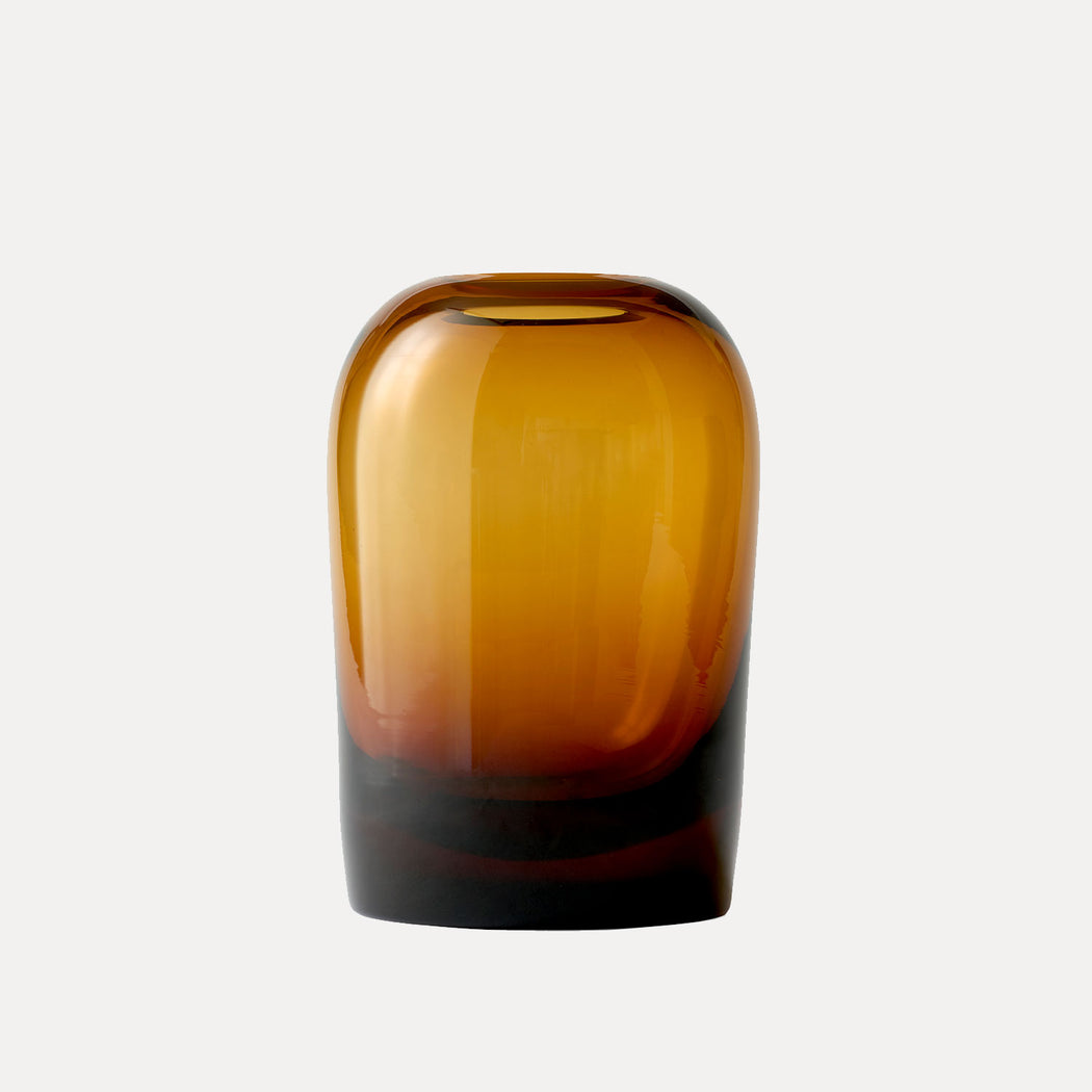 Large Troll Vase in Amber