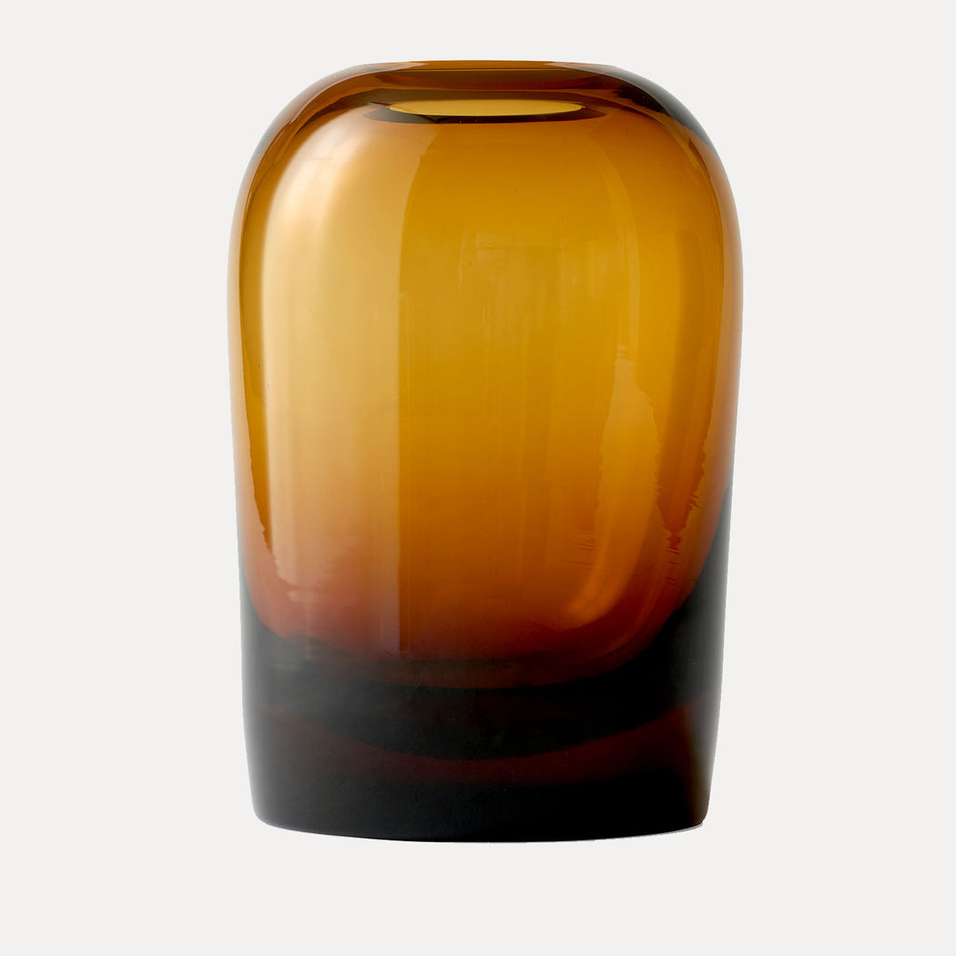 Extra Large Troll Vase in Amber