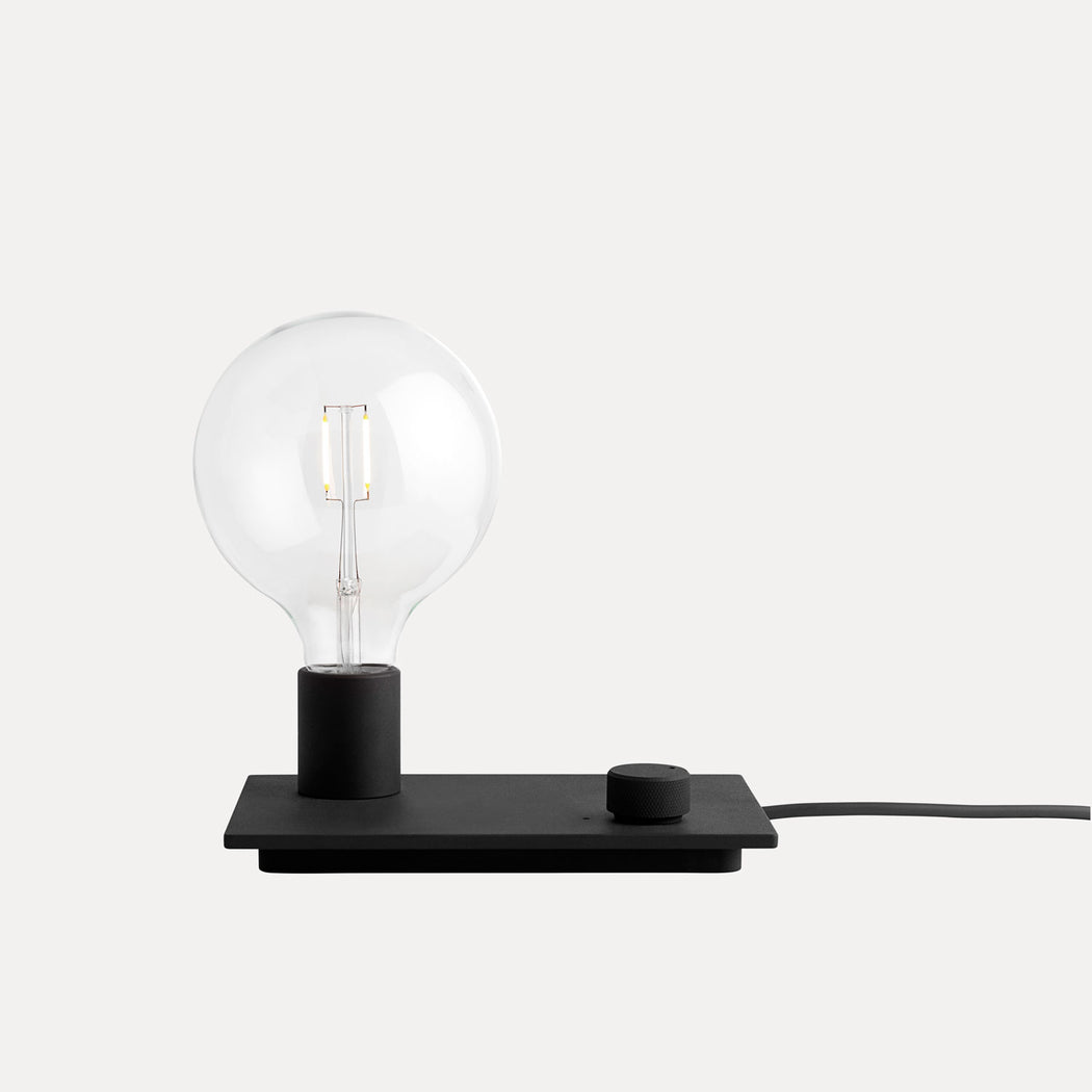 Control Table Lamp, Black