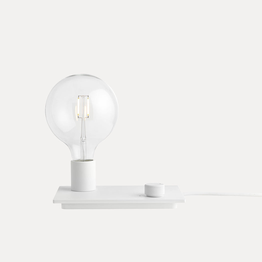 Control Table Lamp, White