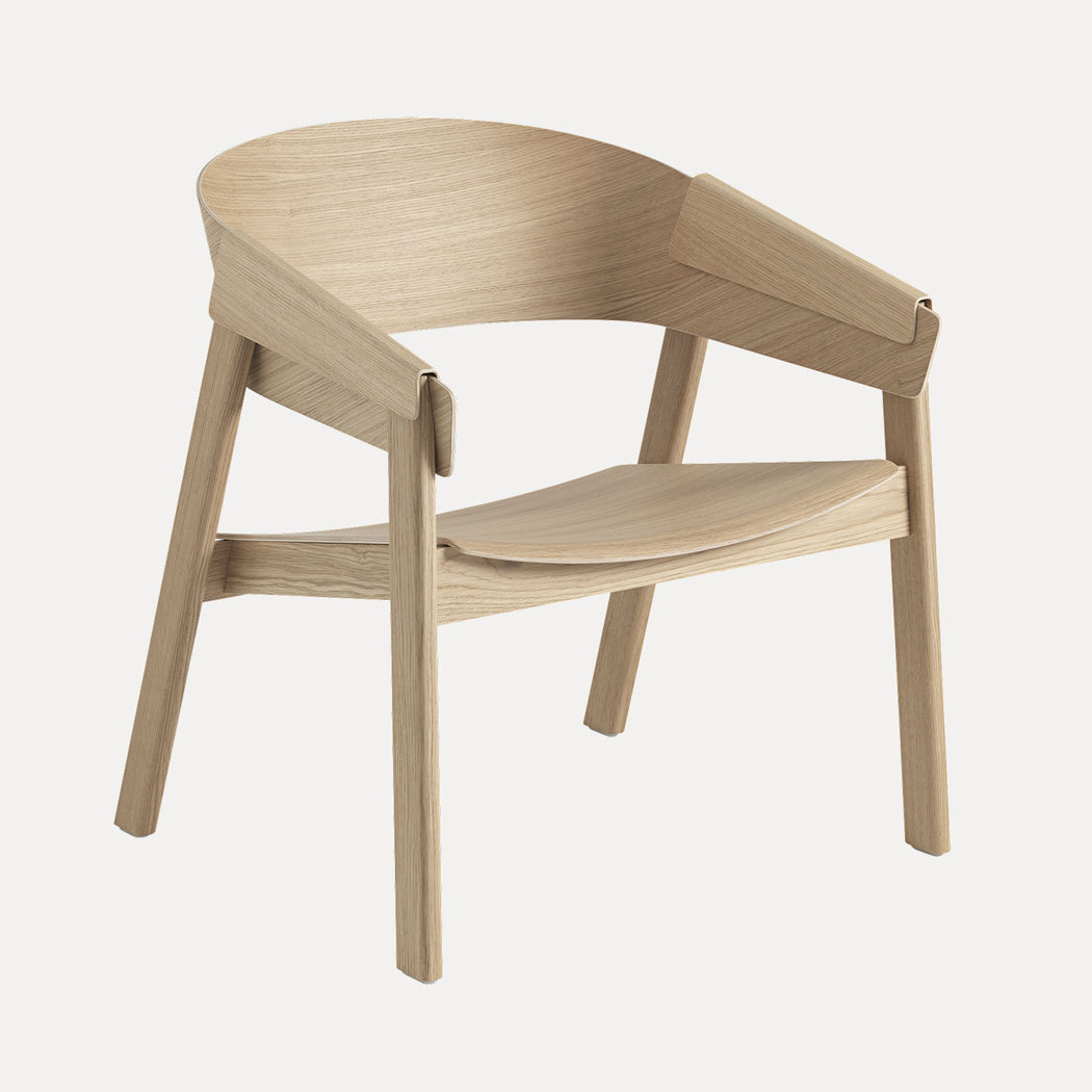 Cover Lounge Chair, Oak