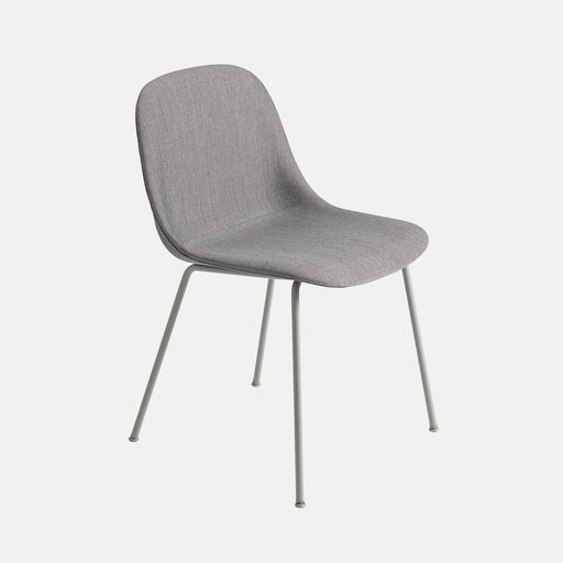 Fiber Tube Upholstered Side Chair, Remix 133/Grey