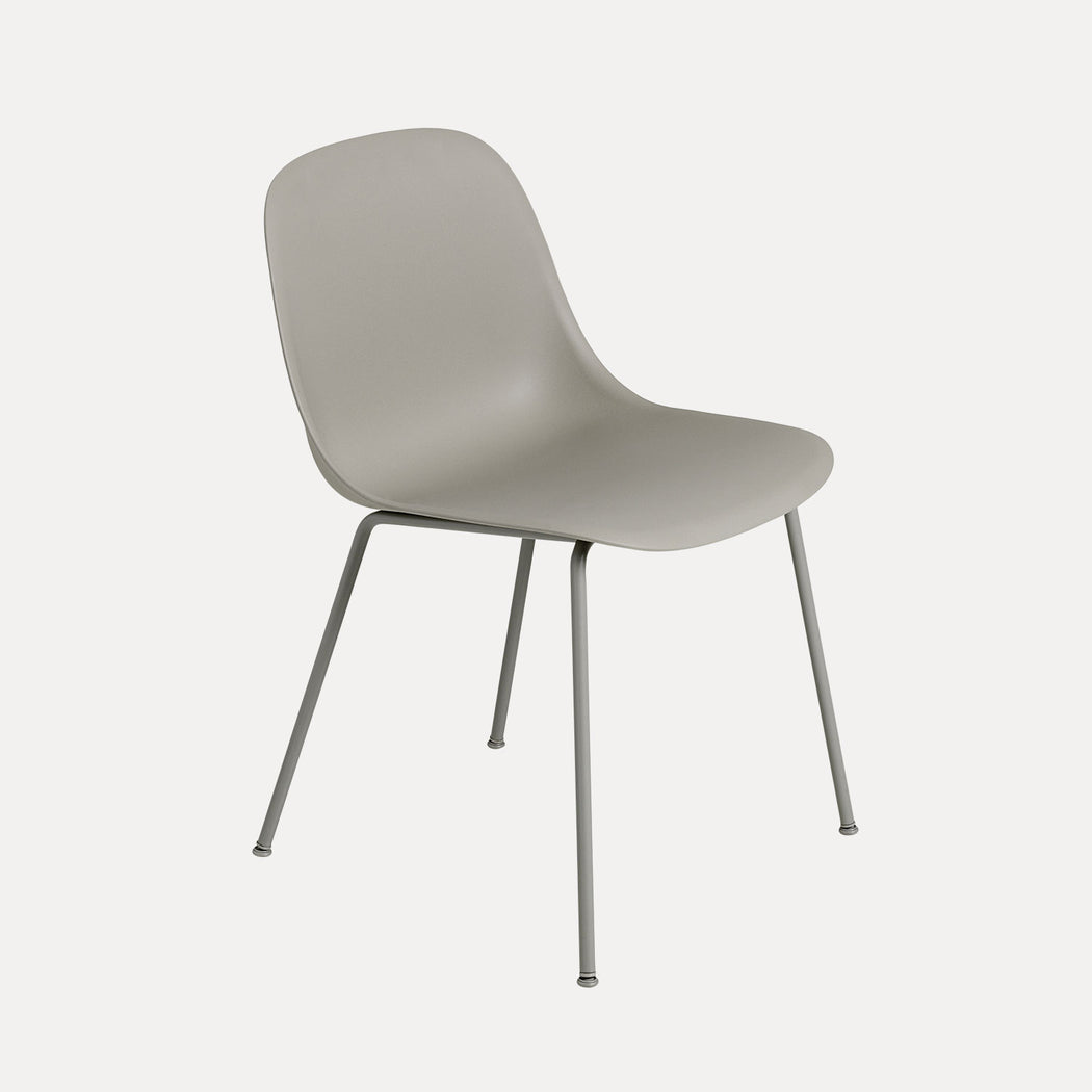 Fiber Tube Chair, Grey Fiber/Grey